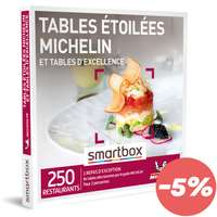 Coffret cadeau Gastronomie - Tables étoilées MICHELIN et tables d'excellence |Smartbox - Pandacola