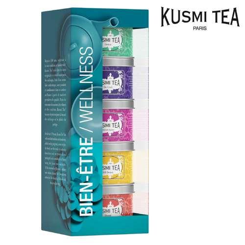 Thés - Coffret de 5 thés et infusions | Kusmi Tea Bien-être - Pandacola