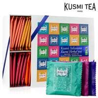 Coffret de 45 sachets de thés et infusions Bio | Kusmi Tea Bio - Pandacola