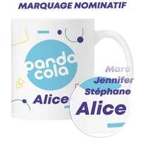 Mug céramique marquage sublimation et nominatif 300 ml all over- Blado - Pandacola