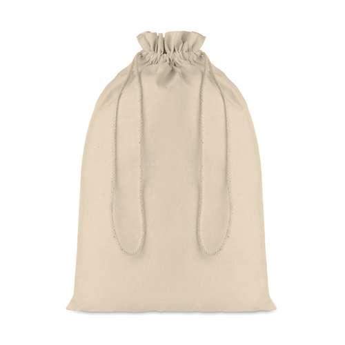 Sacs pochon/pochettes - Sac pochon promotionnel grand format avec cordon de serrage en coton 105 gr/m² - Taske Large - Pandacola