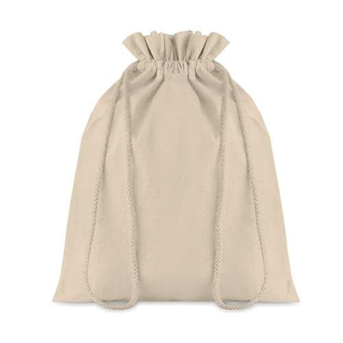 Sacs pochon/pochettes - Sac pochon publicitaire moyen format avec cordon de serrage en coton 105 gr/m² - Taske Medium - Pandacola