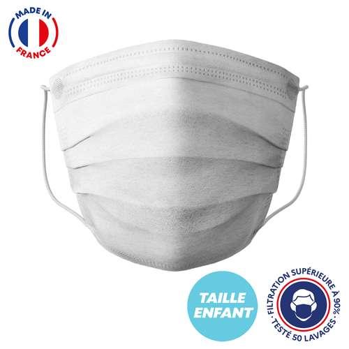 Masques de protection - UNS1 50 lavages enfant made in France - Masque grand public à filtration garantie supérieure à 95%|Barral - Pandacola