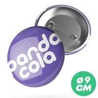Badge personnalisé rond Ø9 cm - Paty - Pandacola