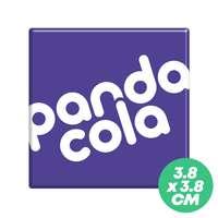 Magnet publicitaire carré 3,8x3,8 cm - Skol - Pandacola