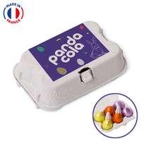 Mini boîte d'œuf de Pâques personnalisée - Made in France - Pandacola