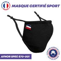 UNS1 sport 50 lavages - Masque certifié sport grand public à filtration garantie supérieure à 99% - Made in France - Pandacola