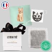 Boîte de plusieurs sachets de thé personnalisés - Made in France - Le beau thé - Pandacola