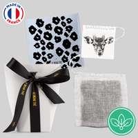Pochette de 5 sachets de thé personnalisable - Made in France - Le beau thé - Pandacola