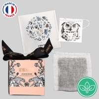 Mini boîtes de 10 sachets de thé publicitaire édition limitée - Made in France - Le beau thé - Pandacola