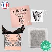 Mini coffret de 5 sachets de thé publicitaire édition limitée - Made in France - Le beau thé - Pandacola