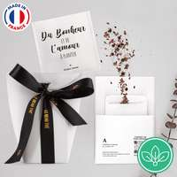Pochette de 5 sachets de graines personnalisable - Made in France - Le beau graines - Pandacola