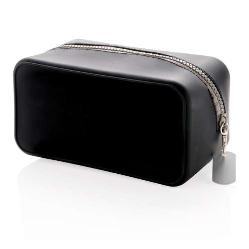 Trousses voyages/maquillages - Trousse de toilette personnalisée en silicone - Castell - Pandacola