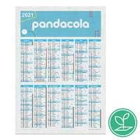 Calendrier publicitaire colonne A4 à semer après utilisation en papier - Leva - Pandacola