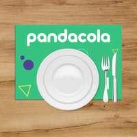 Set de table jetable personnalisé en quadrichromie - Festo - Pandacola