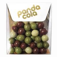 Noisettes enrobées de chocolat de votre choix personnalisable - Made in France - Pandacola