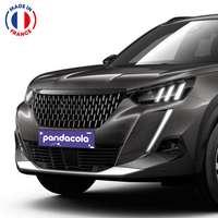 Cache-plaque d'immatriculation de voiture en PVC à personnaliser - Pandacola