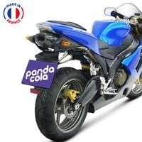 Cache-plaque d'immatriculation de moto en PVC à personnaliser - Pandacola