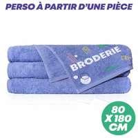 Serviette de plage personnalisé 180x80 cm 450 gr/m² - Beach Towel - Pandacola