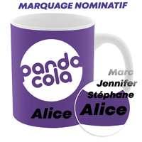 Mug personnalisable d'une capacité de 300 ml en sublimation option nominative - Oslo - Pandacola