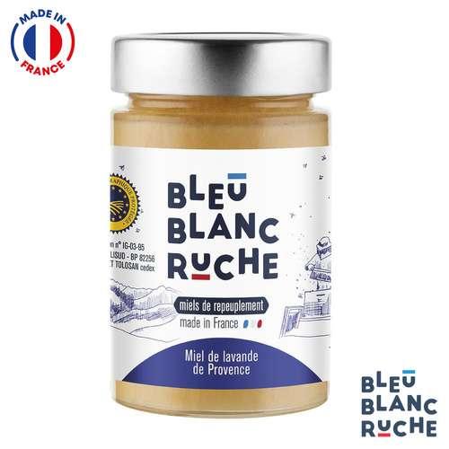 Pots de miel - Pot de 250g de miel de lavande de provence | Bleu Blanc Ruche - Pandacola