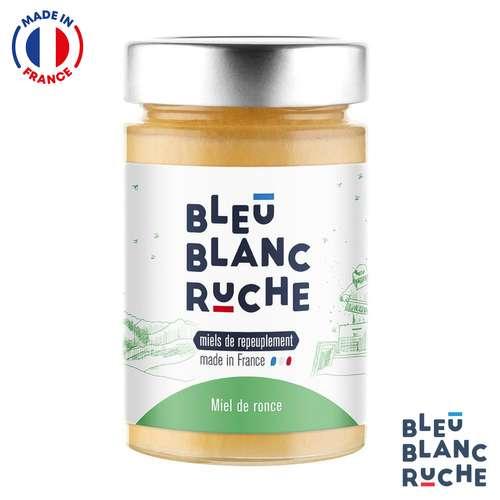 Pots de miel - Pot de 250g de miel de ronce | Bleu Blanc Ruche - Pandacola
