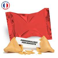 Fortune Cookies made in France avec messages personnalisés - Pandacola