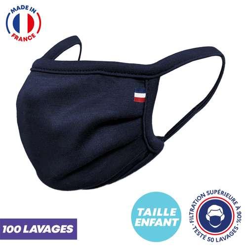 Masques de protection - UNS1 enfant 100 lavages - Masque grand public à filtration garantie supérieure à 96% - Masque enfant fabriqué en France - Pandacola
