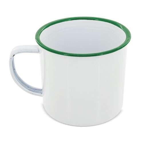 Mugs - Mug métallique émaillé personnalisé 35 cl - Retro - Pandacola