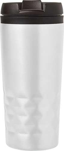 Mugs - Mug promotionnel isotherme double paroi en acier inoxydable 300 ml - Rezo - Pandacola