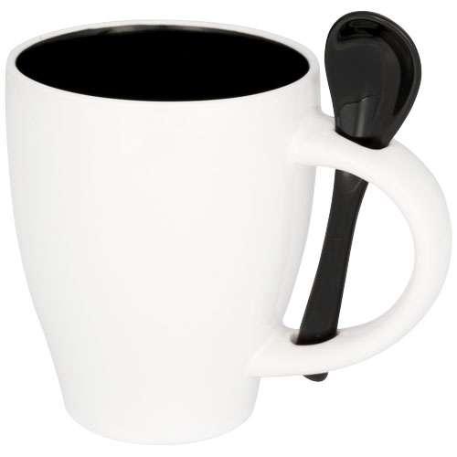 Mugs - Mug personnalisé avec cuillère 250 ml - Nadu - Pandacola