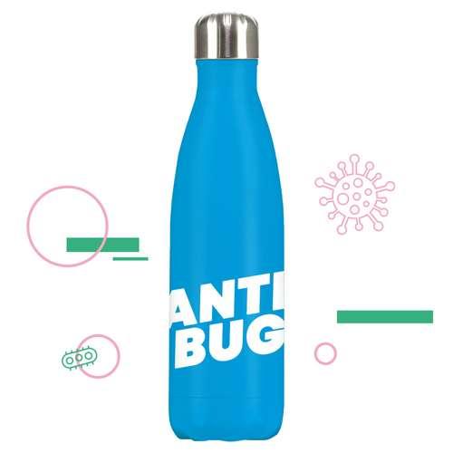 Gourdes - Gourde isotherme Anti-Bactériens 500 ml - Eevo AntiBug - Pandacola