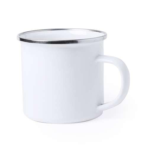 Mugs - Mug personnalisé vintage en émail de 380 ml - Neyms - Pandacola