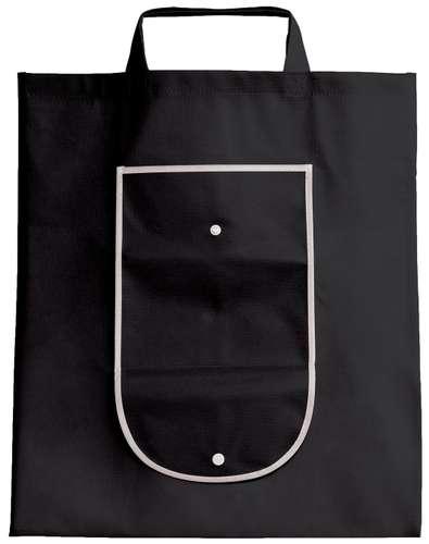 Sacs shopping - Sac shopping pliable personnalisable non tissé 80 gr/m² - Détroit - Pandacola