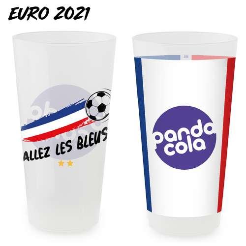 Gobelets réutilisables - Gobelet personnalisé spécial EURO 2021 réutilisable 50-56 cl - Pandacola
