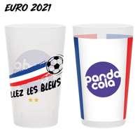Gobelet personnalisé spécial EURO 2021 réutilisable 25-33 cl - Pandacola