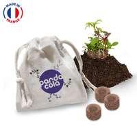 Baluchon personnalisable de 12 bombes à fleurs made in France - Pandacola