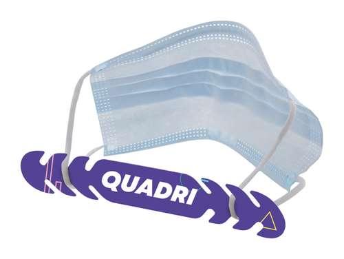 Autres équipements de sécurité - Attache masque personnalisé - Atico quadri - Pandacola