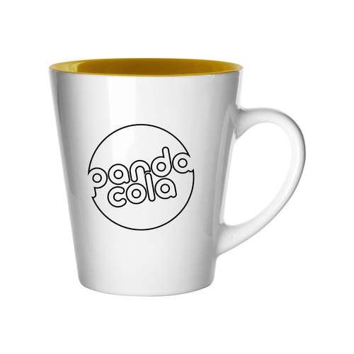 Mugs - Mug en céramique d'une capacité de 320 ml coloré à l'intérieur - Salo - Pandacola