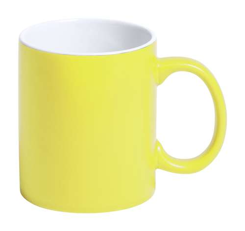 Mugs - Mug personnalisable depuis l'intérieur en céramique et coloré à l'extérieur 350 ml - Lousa - Pandacola