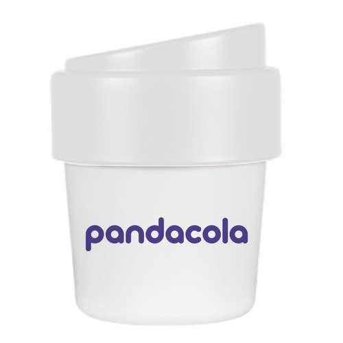 Gobelets réutilisables - Gobelet personnalisable à café avec couvercle d'une capacité de 240 ml - Hot - Pandacola