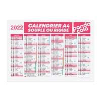 Calendrier publicitaire 2022 recto/verso format A4 - Altha - Pandacola
