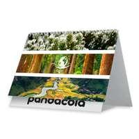 Calendrier chevalet personnalisé 2022 avec reliure spiraliée 7 feuillets - Planète verte - Pandacola