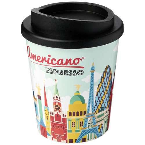 Gobelets classiques - Gobelet isotherme Espresso couleurs moulées 250 ml - Avon  Brite-Americano - Pandacola