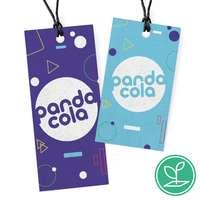 Etiquette publicitaire à semer et attacher en papier - Tartu - Pandacola