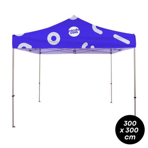 Tentes gonflables - Tente évenementielle personnalisée en acier - 3x3m - Pandacola