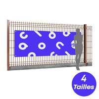 Banderole publicitaire en polyester personnalisable 175g/m² - Oxford - Pandacola