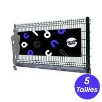 Banderole publicitaire en PVC personnalisable - 420 g/m² - Pandacola