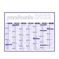 Calendrier bancaire personnalisable 2022 multi-taille - Premium - Pandacola