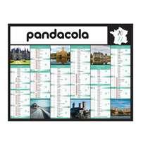 Calendrier bancaire 2022 personnalisé thématique - Châteaux - Pandacola